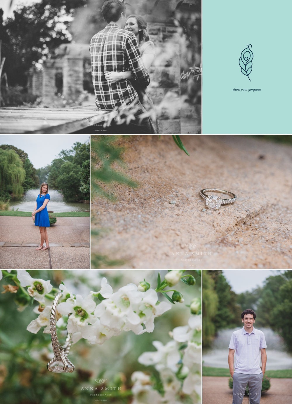 Kim ty engagement session at fort worth botanical Fort worth botanical gardens wedding