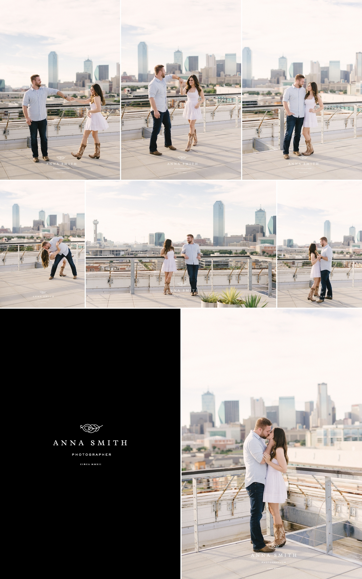 Shelby Mark Engagement Session Downtown Dallas Tx